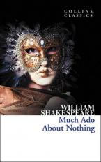COLLINS CLASSICS : MUCH ADO ABOUT NOTHING Paperback A FORMAT