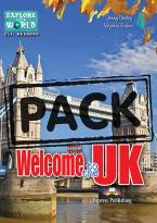 EOW : WELCOME TO THE UK 4 TEACHER'S BOOK  (+ CD-ROM)