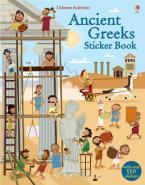 USBORNE ACTIVITIES : ANCIENT GREEKS STICKER BOOK Paperback