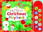 USBORNE BABY'S VERY FIRST CHRISTMAS PLAYBOOK