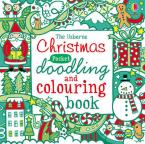 USBORNE : CHRISTMAS DOODLING AND COLOURING BOOK Paperback