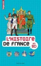 L'HISTOIRE DE FRANCE EN BD  POCHE