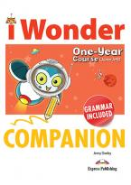 iWONDER JUNIOR A+B (ONE YEAR COURSE) COMPANION & GRAMMAR
