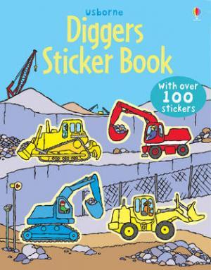 USBORNE : FIRST STICKER BOOK DIGGERS (+ STICKERS) Paperback