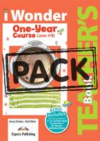 iWONDER JUNIOR A+B (ONE YEAR COURSE) TEACHER'S BOOK  (+ POSTERS)
