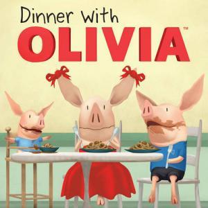 DINNER WITH OLIVIA (OLIVIA TV) Paperback MINI