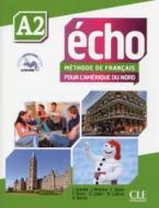 ÉCHO POUR L'AMERIQUE DU NORD A2 METHODE (+ DVD) + LIVRE WEB