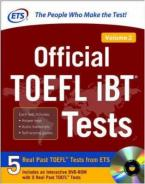 OFFICIAL TOFL IBT TESTS VOLUME 2