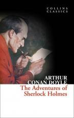 COLLINS CLASSICS : THE ADVENTURES OF SHERLOCK HOLMES Paperback A FORMAT