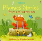 USBORNE PHONICS STORIES: FROG ON A LOG & OTHER TALES HC A FORMAT