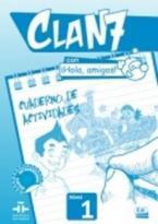 CLAN 7 HOLA AMIGOS 1 EJERCICIOS