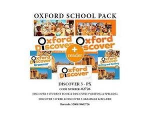 OXFORD DISCOVER 3 PACK PX (Student's Book + Workbook + READER + WRITING & SPELLING + READER) - 02726