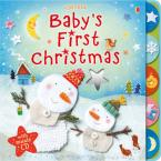 USBORNE : BABY'S FIRST CHRISTMAS (+ CD) HC BBK