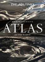TIMES ATLASES : THE TIMES COMPREHENSIVE ATLAS OF THE WORLD  HC