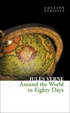 COLLINS CLASSICS : AROUND THE WORLD IN EIGHTY DAYS Paperback A FORMAT