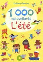 USBORNE : 1000 AUTOCOLLANTS L'ETE