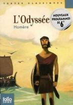 FOLIO JUNIOR : L'ODYSSEE TEXTES CLASSIQUES POCHE