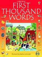 USBORNE : FIRST THOUSAND WORDS IN ENGLISH Paperback