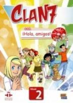 CLAN 7 HOLA AMIGOS 2 ALUMNO (+ EXTENSION DIGITAL)