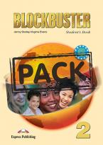 BLOCKBUSTER 2 STUDENT'S BOOK PACK (+ READER + CD-ROM) (READER:HOUND OF THE BASKERVILLES)