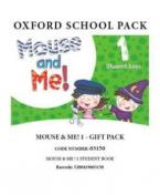 MOUSE AND ME 1 GIFT PACK - 03150 Student's Book PACK