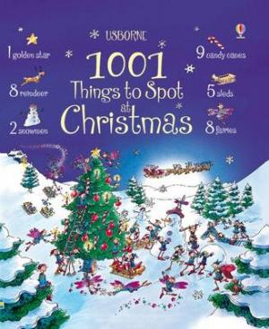 USBORNE : 1001 THINGS TO SPOT AT CHRISTMAS Paperback