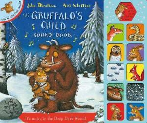 THE GRUFFALO'S CHILD SOUNDBOOK HC