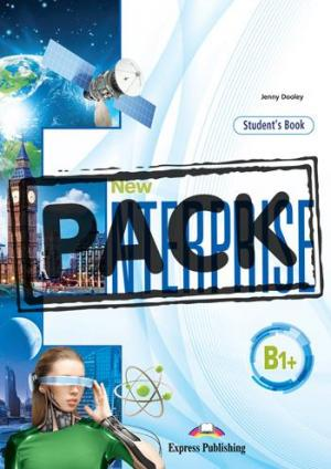 NEW ENTERPRISE B1+ Student's Book (+ DIGIBOOKS APP)
