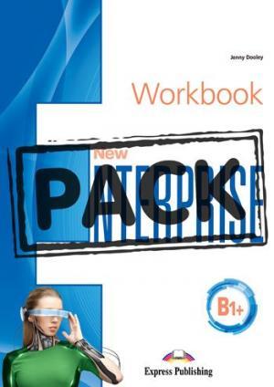 NEW ENTERPRISE B1+ Workbook (+ DIGIBOOKS APP)