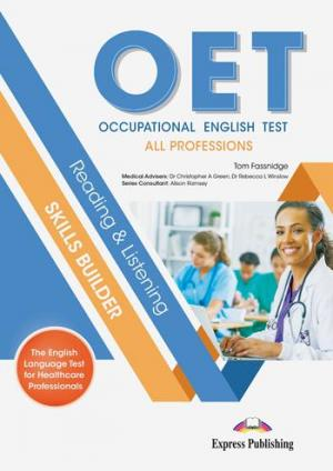 OET READING & LISTENING SKILLS BUILDER: ALL PROFESSIONS Student's Book (+ DIGIBOOKS APP)