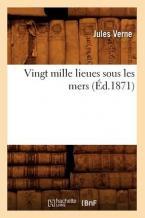 VINGT MILLE LIEUES SOUS LES MERS (ED.1871)  POCHE