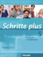 SCHRITTE PLUS 5 KURSBUCH & ARBEITSBUCH(+CD)