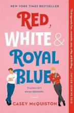 RED, WHITE & ROYAL BLUE Paperback