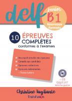 NOUVEAU DELF JUNIOR B1 10 EPREUVES COMPLETES