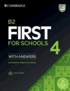 CAMBRIDGE ENGLISH FIRST FOR SCHOOLS 4 SELF STUDY PACK (+ DOWNLOADABLE AUDIO) W/A