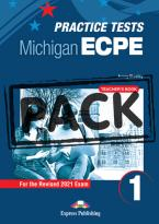 ECPE TESTS FOR THE MICHIGAN PROFICIENCY 1 Teacher's Book (+ DIGIBOOKS APP) 2021 FORMAT