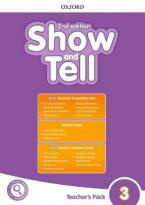 OXFORD SHOW AND TELL 3 Teacher's Book PACK 2ND ED