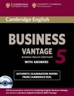 CAMBRIDGE ENGLISH BUSINESS VANTAGE 5 SELF STUDY PACK