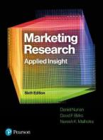 MARKETING RESEARCH APPLIED INSIGHT, 6TH EDITION Paperback