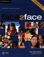 Face 2 Face Pre-intermediate Student's Book 2nd Ed