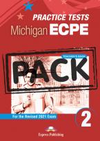 NEW PRACTICE TESTS FOR THE MICHIGAN ECPE 2 Teacher's Book (+ DIGIBOOKS APP) 2021 EXAM