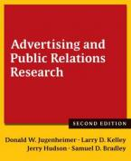 ADVERTISING AND PUBLIC RELATIONS RESEARCH Paperback