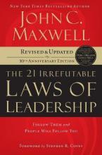 THE 21 IRREFUTABLE LAWS OF LEADERSHIP Paperback