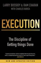 EXECUTION : THE DISCIPLINE OF GETTING THINGS DONE Paperback