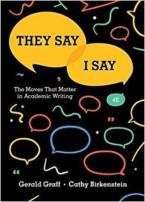 THEY SAY/I SAY Paperback
