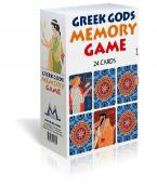GREEK GODS MEMORY GAME 24 CARDS