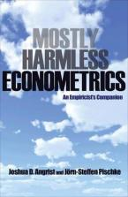 MOSTLY HARMLESS ECONOMETRICS AN EMPIRICIST'S COMPANION Paperback