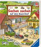 SACHEN SUCHEN: AUF DEM BAUERNHOF - WIMMELBUCH AB 2 JAHREN HC BBK