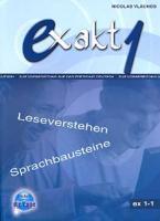 EXAKT 1-1 KURSBUCH (LESEVERSTEHEN, SPRACHBAUSTEINE)