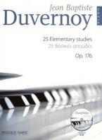 DUVERNOY - 25 ΒΑΣΙΚΕΣ ΣΠΟΥΔΕΣ OP.176 + CD